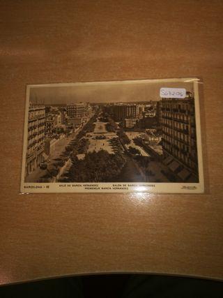 postal C.T.V guerra civil española Barcelona