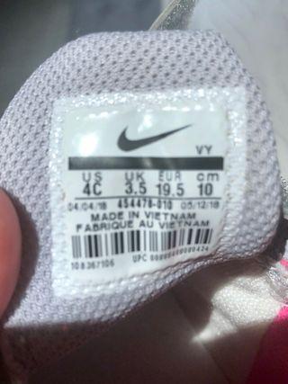 Zapatos deportivos Nike bebe