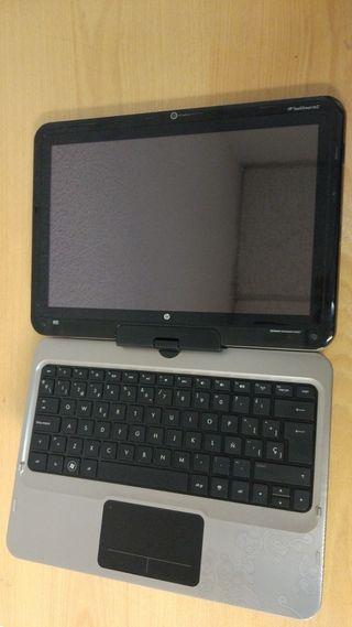 Portátil HP TouchSmart tm2, i3 4 GB RAM