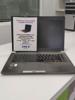 Portatil Toshiba Tecra Z40 i5 con garantia