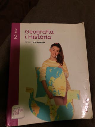 libro de geografia y historia 2eso en buen estado