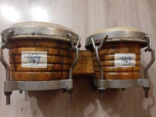 Bongos artesanales Cuba