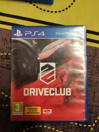 Drive Club PS4 coches
