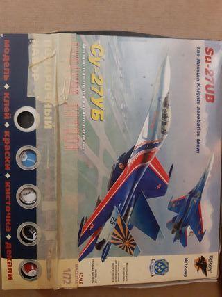 Modelo de avión de guerra