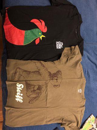 6 camisetas uniqlo
