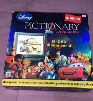 pictionary juego en dvd