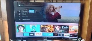 "Samsung Smart tv 4k Curva 55"" Alta Gama Serie 9000"