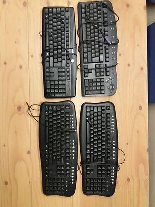 4 teclados ordenador