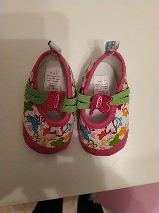 zapatos bebé Nina talla 17