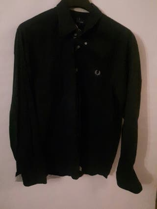 Camisa Fred Perry azul oscuro