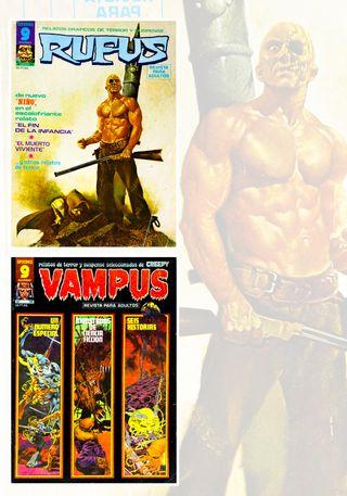 Supercomics Garbo lote Vampus nº 68 + Rufus nº 30