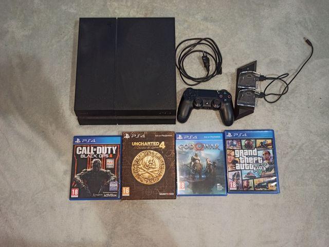 PS4, Mando PS4, Juegos, Cargador