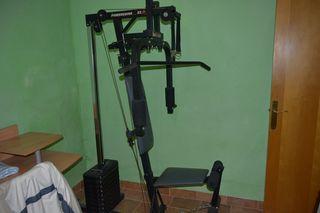 Multiestación, máquina de pesas.
