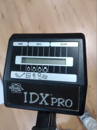 Detector de metales white`s idx pro segundamano