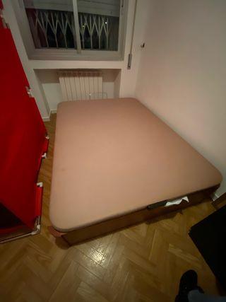 Canapé marrón