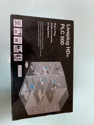 Adaptadores PLC 500 Liveplug HD+