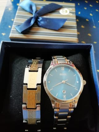 Reloj de mujer Binzi + pulsera