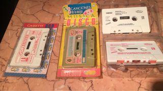 Cassettes obsequio de súper pop precintados