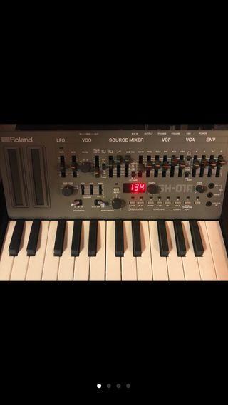 Roland Sh-01 y Teclado Roland keyboard