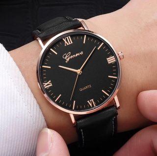 Reloj Elegante Negro (Hombre)