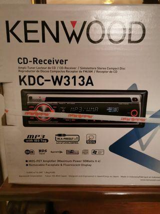 REPRODUCTOR CD Y MP3 PARA COCHE