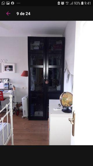 armario negro ikea
