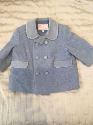 Abrigo vestir niño 1 año (da talla)