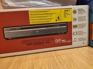 DVD Grabador (160Gb) Sony RDR-HXD 870