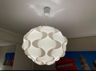 KIT 1 Lámpara de techo y 2 lámparas mesita IKEA