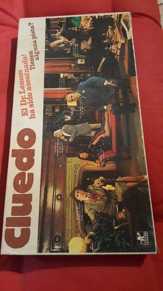 CLUEDO juego de mesa 1974