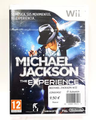 JUEGO WII MICHEL JACKSON EXPERIENCE