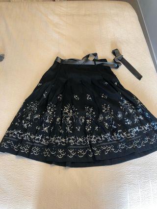 Falda de fiesta