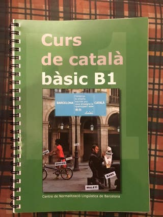 Curso de catalán, Libro B1