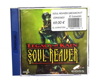 JUEGO DREAMCAST SOUL REAVER