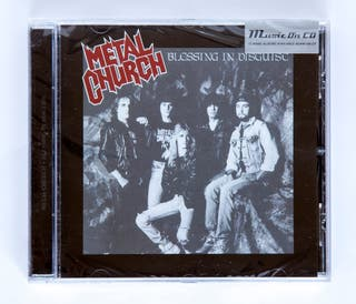 CD METAL CHURCH BLESSING IN DISGUISE NUEVO