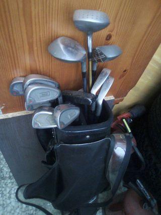 Bolsa golf + palos y bolas