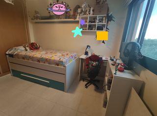 Habitacion juvenil completa