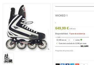 Guias de patines de Hockey de 650€!!