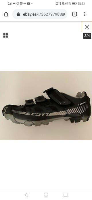 zapatillas ciclismo scott comp n45