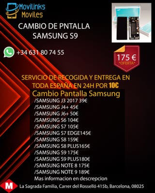 PANTALLA SAMSUNG S9 100%ORIGINAL GARANTIA 6MES