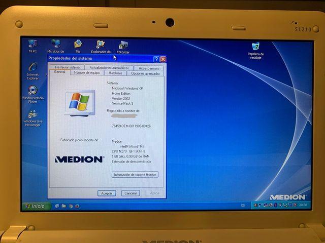 Portátil Medion Akoya S1210