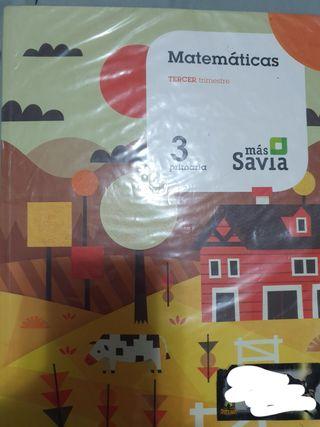 matemáticas savia 3 primaria 3 trimestre