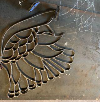 Esculturas y arte en hierro