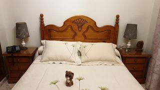 Cabecero+2 Mesitas de noche+ cómoda