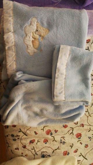 sábanas mini cuna invierno coralina 2 juegos