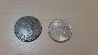 Monedas Holanda juliana