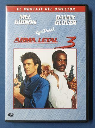 DVD - Arma letal 3