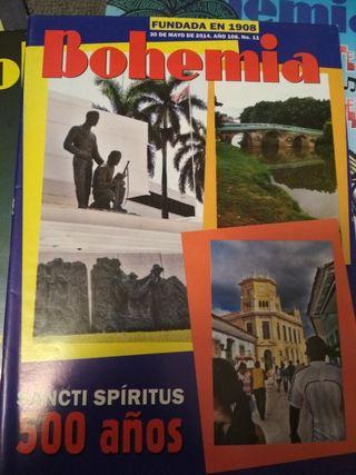 Lote Revistas Bohemia. Cuba