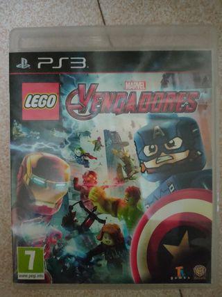 LEGO PS3 LOS VENGADORES PS3