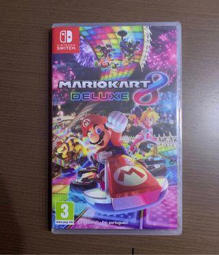Mario kart 8 recién comprado ayer con ticket